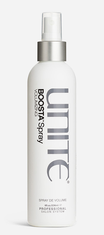Indispensable when you heat style or blow dry. BOOSTA builds body, giving your hair lift and weightless volume. It enhances texture while delivering a healthy sheen finish. How you ever got by before is baffling. $9.50