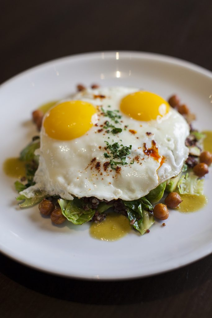 Ollo has an amazing breakfast menu made with organic, far to table ingredients. Photo: Austin Daniels